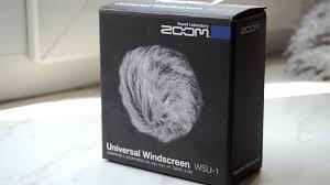 Обзор <b>ветрозащиты Zoom</b> windscreen <b>WSU</b>-<b>1</b> - YouTube