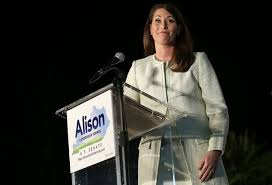 rand paul can t run for senate and president here s his weird paul s worst nemesis kentucky secretary of state alison lundergan grimes win mc e getty images