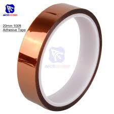 20mm 2cm X <b>30M</b> 100ft Tape <b>High Temperature</b> Heat Resistant ...