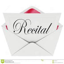 recital word invitation dance music concert performance ticket p recital word invitation dance music concert performance ticket p