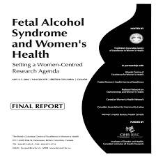 alcohol fasd prevention british columbia centre of excellence fas research agenda cvr