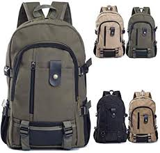 Men's Casual Travel Backpack Multifunction Canvas ... - Amazon.com
