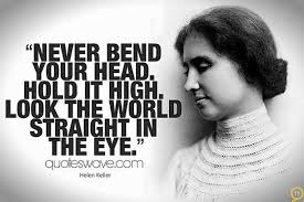 Helen Keller Quotes About Eyesight. QuotesGram via Relatably.com