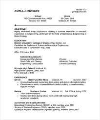 Sample Biomedical Engineer Resume      Free Documents Download in     Sample Templates