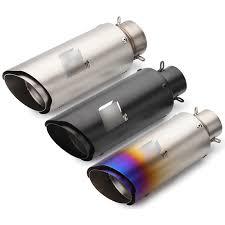 Inlet <b>36 51mm Universal Motorcycle Exhaust</b> Akrapovic sc Laser ...