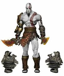 <b>NECA God of</b> War 3 Ultimate Kratos <b>7</b> Inch Action Figure Collector ...