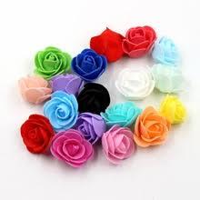 50 шт./лот Искусственные <b>цветы розы</b> пена медведь аксессуары ...