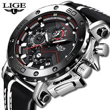New <b>Fashion Watch Men</b> LIGE <b>Top</b> Brand Sport <b>Watches Mens</b> ...