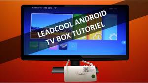 Comment configurer un boitier android <b>Leadcool</b> BoxTV tutoriel ...