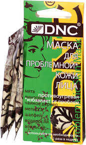 DNC <b>Маска для проблемной кожи</b> лица, 3х15 мл — купить в ...