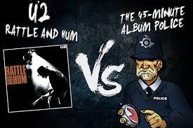 <b>U2's</b> '<b>Rattle and</b> Hum' Gets Cut Down by the 45-Minute Album Police