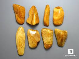 12-105/<b>2 Яшма</b> желтая, галтовка <b>2</b>,<b>5</b>-3 см - в наличии, цена - 70 руб