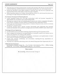 executive resume senior executive resume