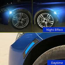 <b>2x Car Door</b> Edge Guard Reflective Sticker Tape Decal Safety ...