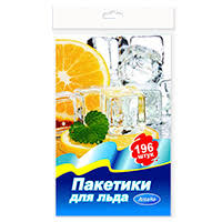 <b>Пакеты для продуктов</b> : 72510 Пакетики для льда 196шт п/э ...