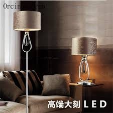 the minimalist living double table lamp black and white fashion creative lighting new floor fg534