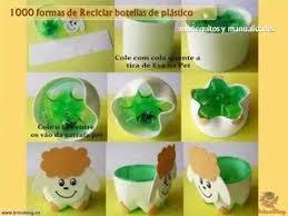 Resultado de imagen para reciclaje con botellas de plastico
