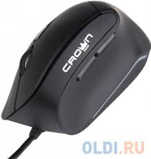 <b>Мышь Crown CMM-960</b> Black USB — купить по лучшей цене в ...