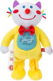 <b>Развивающая игрушка</b> музыкальная <b>Happy Baby</b> Mr.Cat — купить ...