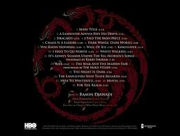 Excellent topic <b>OST Game Of</b> Thrones (Music From The Hbo Series ...