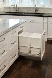 Kitchen Cabinet Garbage Drawer 17 Best Ideas About Traditional Kitchen Trash Cans On Pinterest