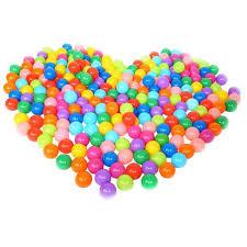 25/50/<b>100 pcs Eco Friendly</b> Colorful Ball Soft <b>Plastic</b> Ocean Ball ...
