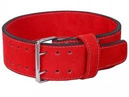 <b>Пояс Harper Gym</b> JE 2633 R Leather XS Red 361 327 - ElfaBrest