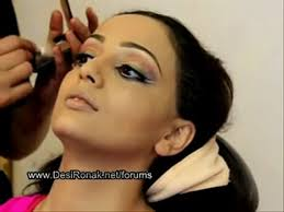 party makeup and hairstyle in urdu video dailymotion search stani bride bridal makeup in stan