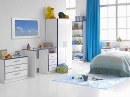nursery ideas long blue curtains white furniture white paint boys room with white furniture