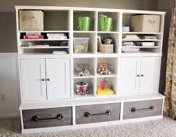 childrens storage furniture playrooms. amazing diy playroom storage plans by anawhitecom love the pipe handles and childrens furniture playrooms s