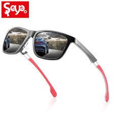 <b>SAYLAYO</b> High End Black Red Men <b>Polarized Sunglasses</b> ...