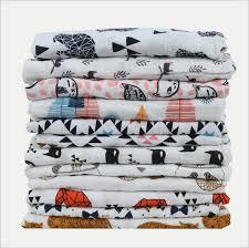 <b>Baby</b> Swaddling Blankets Ins Toddler <b>Cotton</b> Wraps <b>Newborn</b> ...