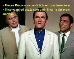 mircea diaconu va candida la europarlamentare si ce va mirati si ce va mirati asa la cate limbi in cur a dat era si normal poster maxima keep calm o matic