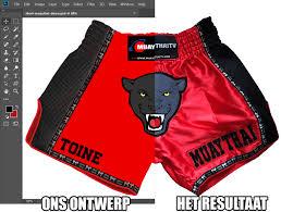 <b>Custom Muay Thai</b> Short - COMBATIK