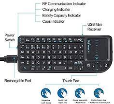 Rii 2.4G Mini Wireless Keyboard with Touchpad ... - Amazon.com