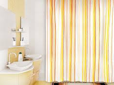 VERRAN Indwen yellow - <b>занавеска для ванной комнаты</b> из ткани ...