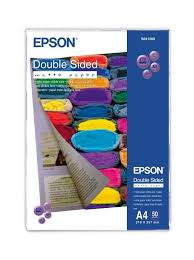 <b>Epson</b> A4 178gsm <b>Double Sided Matte</b> Photo Paper - 50 Pack ...