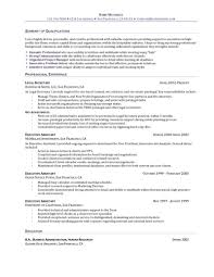 executive assistant resume examples resume examples  best administrative