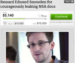 The crowd has Edward Snowden's back, but will it be a big enough posse to keep him out of hot water with the federal government? - snowden_610x510