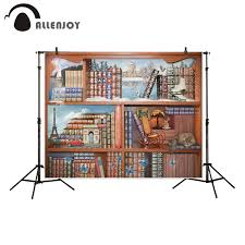 <b>Allenjoy photography backdrop</b> magical world <b>books</b> Eiffel Tower ...