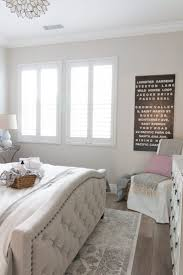 feminine bedroom furniture bed: guest room reveal atp  middot blank wallsguest roomsgrey wood floorsfeminine bedroomupholstered bedsstreet