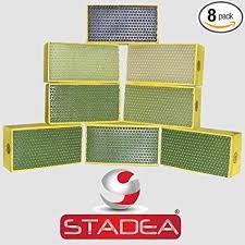 STADEA <b>Diamond</b> Hand Polishing Pads <b>for</b> Stone/Concrete - Set of ...