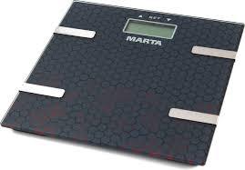 Весы <b>MARTA MT-1675</b> (<b>черный</b>)