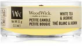 Woodwick <b>White</b> Tea & Jasmine вотивная <b>свеча</b> с деревянным ...
