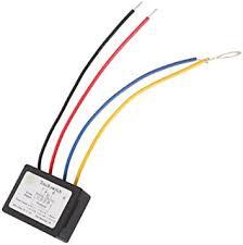 <b>DC</b> 6-<b>12V</b> On/OFF <b>Touch</b> Switch for LED Light Source Lamp ...