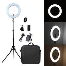Pixco 18'' <b>LED Ring Light</b> Photography 60W 3200K-6000K 480pcs ...