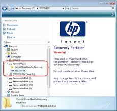 HP and Compaq Desktop PCs - What is the Recovery (D:) Hard ...
