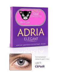 <b>Цветные</b> контактные <b>линзы Adria Elegant</b> Gray -1.50 / 14.2 / 8.6 ...