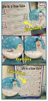 ideas about descriptive writing activities on pinterest     teaching maddeness    life in a snow globe descriptive writing craftivity