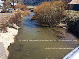 drought in the west a photographic essay cold stream channel diversion